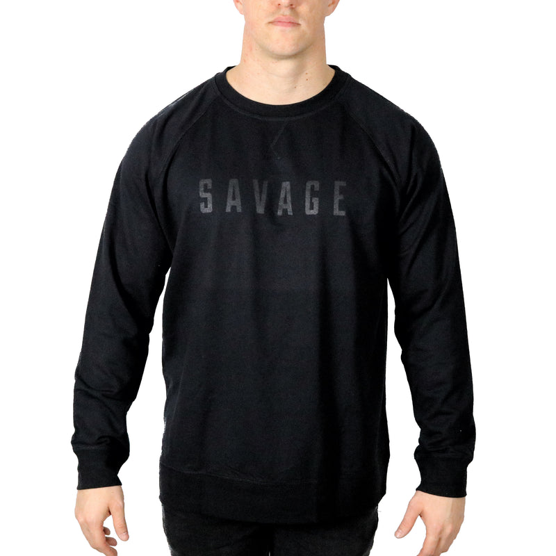 Original Savage Sweatshirt | Black on Black