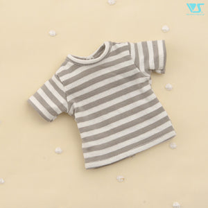 Striped T-Shirt / Mini (Gray)