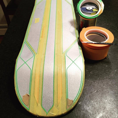 Skatedeck, Helmet, Bike Tape Kit with Trulers