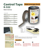 Paint Coverage Check Tape-contact to order