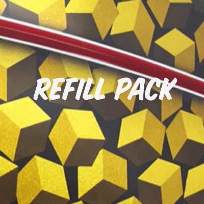 3D Cube Stencil Refill Pack