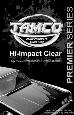 HI IMPACT CLEAR KIT-GALLON