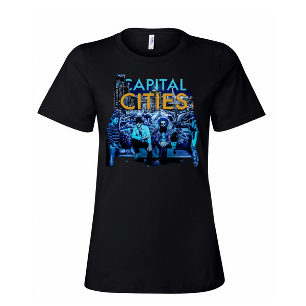 Capital Cities - City Ladies T-Shirt