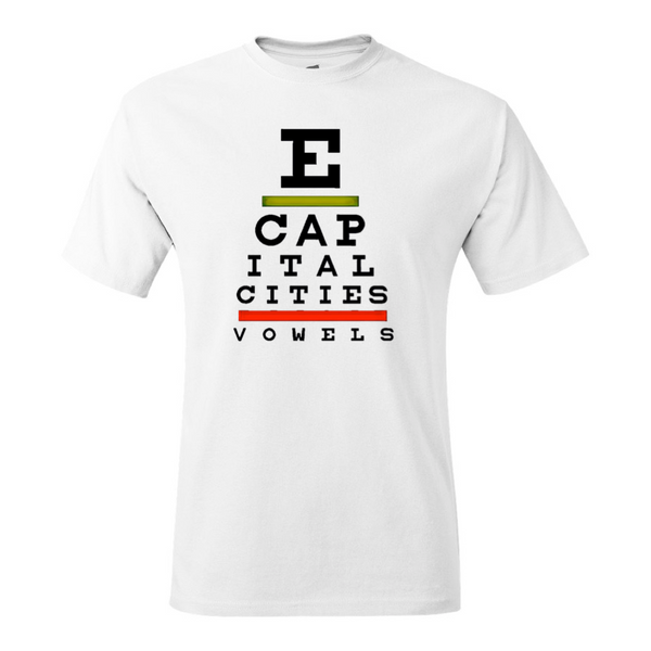 Capital Cities - Eye Exam T-Shirt
