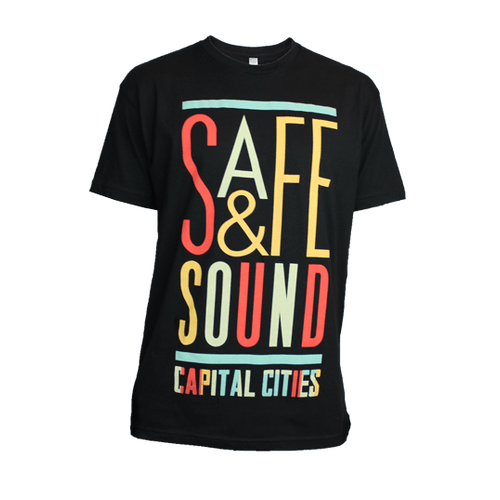 T-Shirt - Mens Safe & Sound Tee