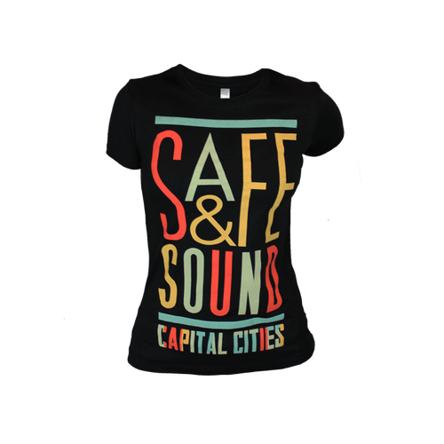 T-Shirt - Ladies Safe & Sound Tee