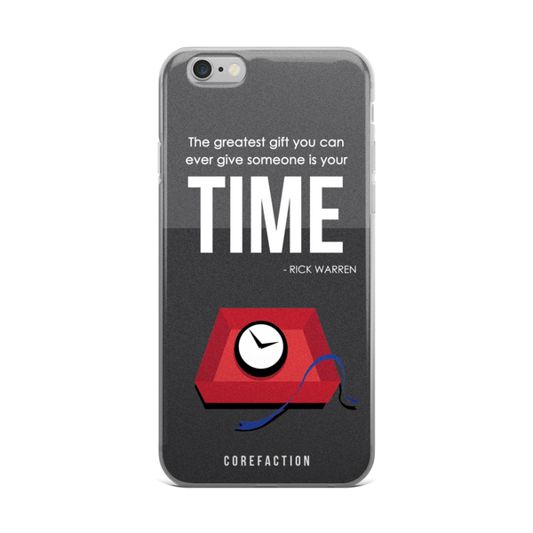 Gift of Time iPhone Case