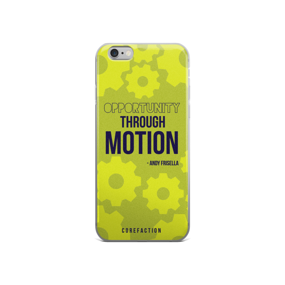 Opportunity Through Motion iPhone Case