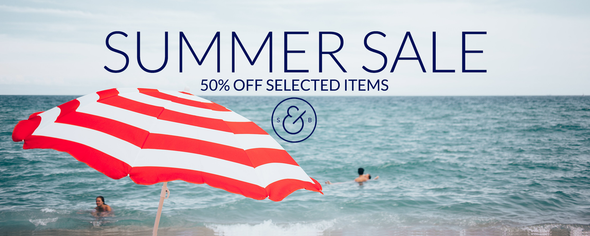 Smith & Brit Summer Sale 50% Off