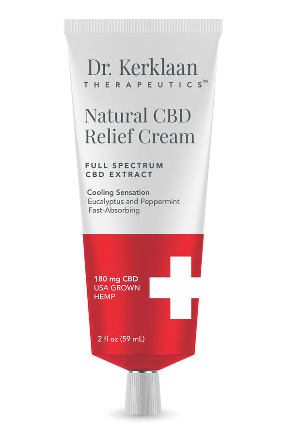 DR. KERKLAAN - NATURAL CBD RELIEF CREAM - Smith & Brit Boutique and Spa