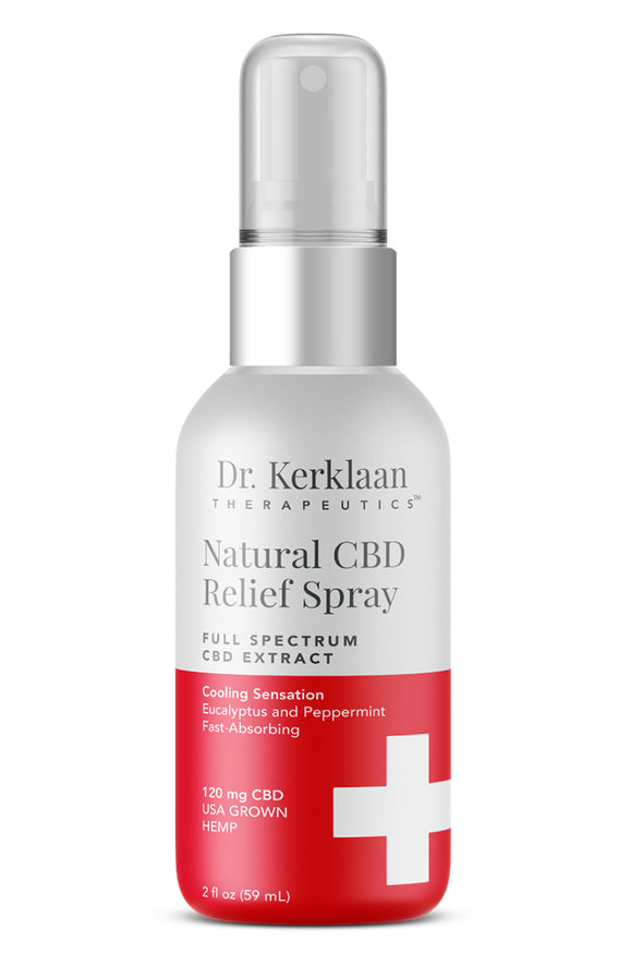 DR. KERKLAAN - NATURAL CBD RELIEF SPRAY - Smith & Brit Boutique and Spa