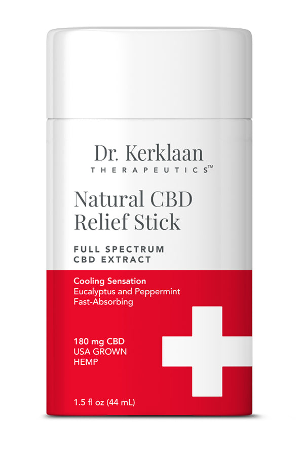 DR. KERKLAAN - NATURAL CBD PAIN STICK - Smith & Brit Boutique and Spa