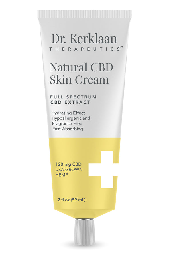 DR. KERKLAAN - NATURAL CBD SKIN CREAM - Smith & Brit Boutique and Spa