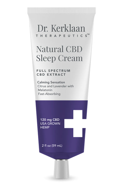 DR. KERKLAAN - NATURAL CBD SLEEP CREAM - Smith & Brit Boutique and Spa