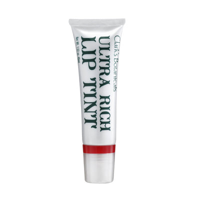 Clarks Botanicals Ultra Rich Lip Tint Rachel Red 04 - Smith & Brit Boutique and Spa