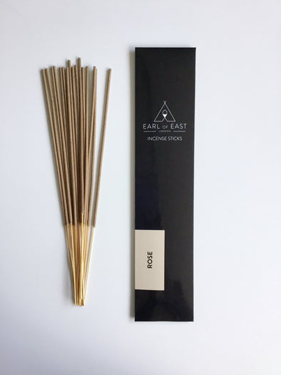 Earl of East Incense Sticks - Rose - Smith & Brit Boutique and Spa