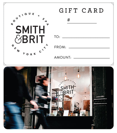 Smith & Brit Gift Certificate - Smith & Brit Boutique and Spa