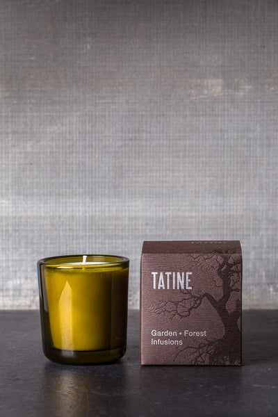 TATINE Violet Candle - Garden And Forest Infusion