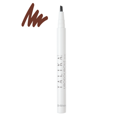Talika Eyebrow Lipocils Ink Brown - Smith & Brit Boutique And Spa