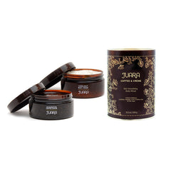 Juara Coffee And Cream Skin Smoothing Ritual Set - Smith & Brit Boutique And Spa