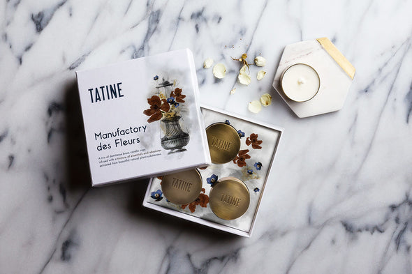 TATINE Blooming Osmanthus Candle Set - Smith & Brit Boutique and Spa