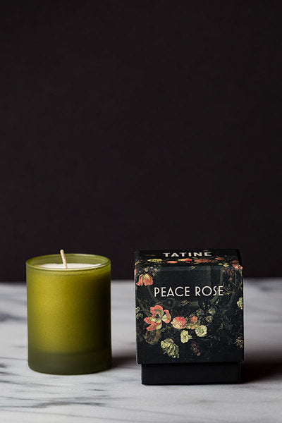 TATINE Peace Rose Candle - Smith & Brit Boutique and Spa