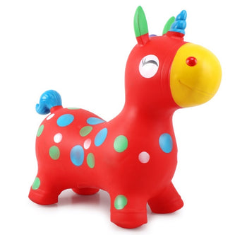 Skep Jumpy Pals - Red Unicorn - Babyonline
