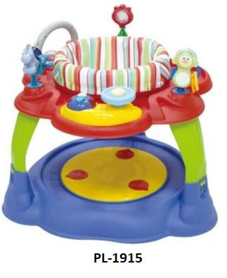 Plush Activity Centre - Blue/Red (PL-1915) - Babyonline
