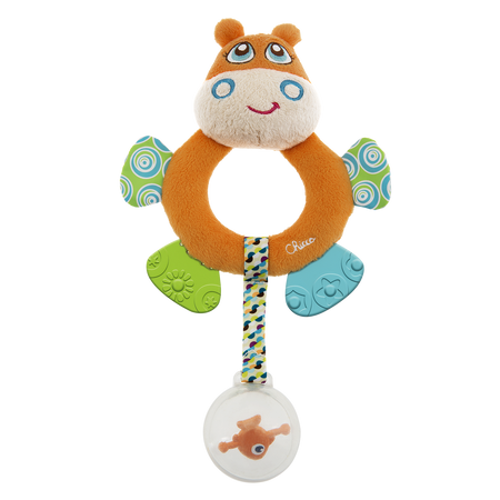 Chicco Mr Hippo Tactile Rattle