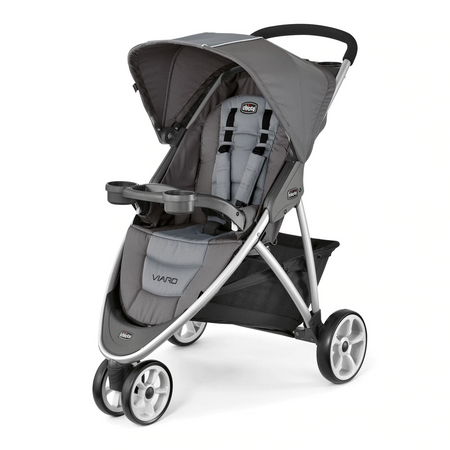 Chicco Viaro Stroller (3 Wheels) - Graphite