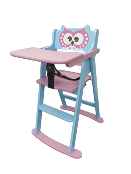Kapai Wooden Highchair OWL