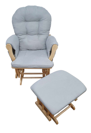 Kapai Glider and Ottoman Nursing Chair Set
