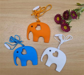My Little Prince Teething Necklace - ELEPHANT