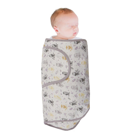 Miracle Blanket Swaddle - FOREST OWLS