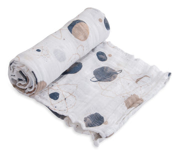 Little Unicorn Single Muslin Swaddle - Planetary