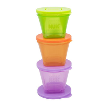 NUK 6x Fresh Foods Food Pots