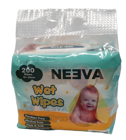 Neeva Unscented Baby Wipes VALUE PACK - Babyonline