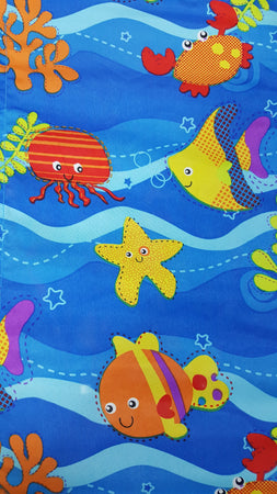 A6-SKEP Super Buggy - Blue/Sea Creatures