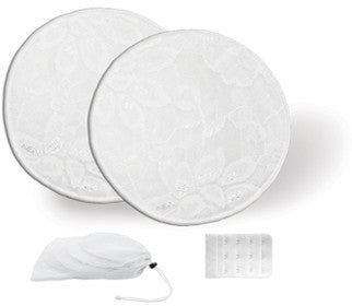 Jolly Jumper Washable Nursing Pads (3 pairs) + Bra Extender - Babyonline