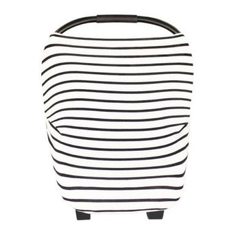 Neeva 4 in 1 Infant Capsules Cover (White-Black Stripes) - Babyonline