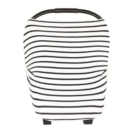 Neeva 4 in 1 Infant Capsules Cover -(White - Black stripes)