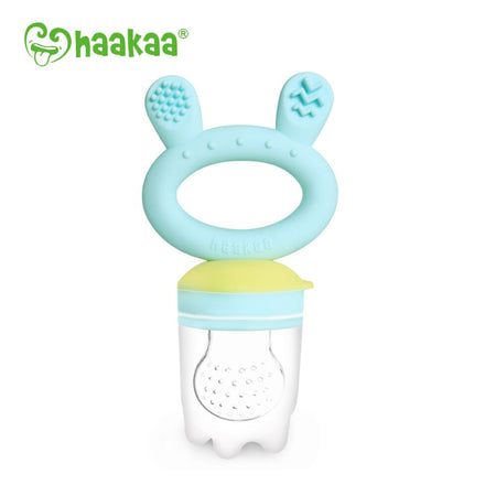 Haakaa - Fresh Food Feeder and Teether BLUE - Babyonline