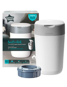 Tommee Tippee Sangenic TWIST & CLICK Advanced Nappy Disposal Unit - Babyonline