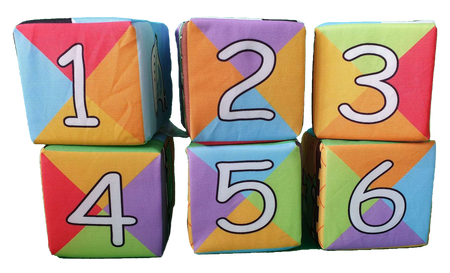 Soft Blocks Counting - Pack of 6 - Babyonline