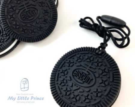 My Little Prince Teething Necklace - OREO