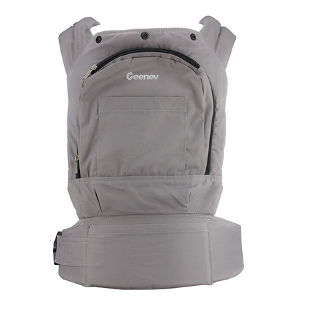 Geenev Front/Back Baby Carrier GREY - Babyonline