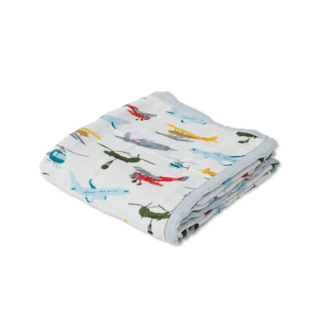 Little Unicorn Deluxe Muslin Quilt - Airshow