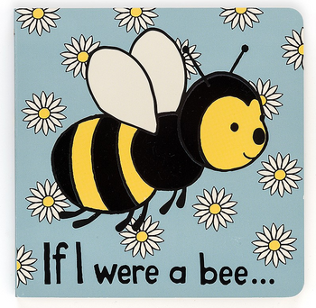 Jellycat If I Were A Bee - Board Book