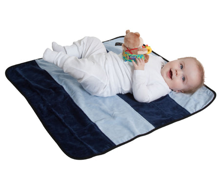 Mum2Mum Play N' Change Mat BABY BLUE & NAVY