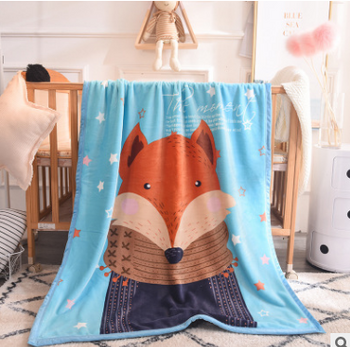 Sleep Tight Mink Feel Blanket FOX